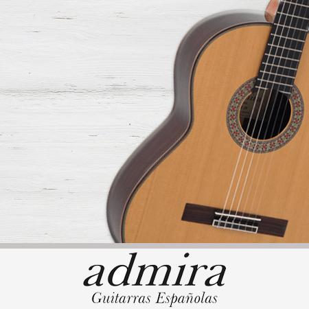 modelos de guitarras admira