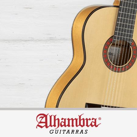 catálogo de guitarras alhambra