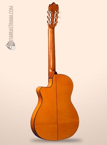 fondo de la guitarra cutaway alhambra 3F CT