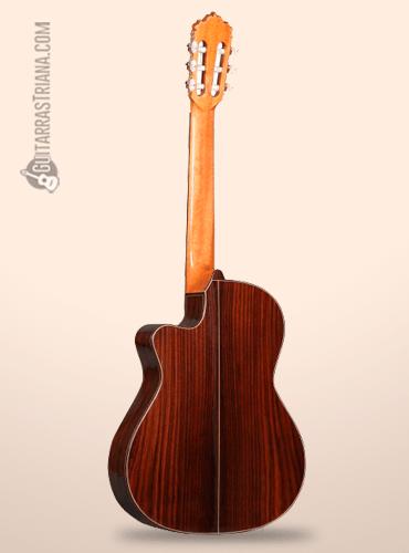 guitarra clásica Alhambra 7PA CW detrás
