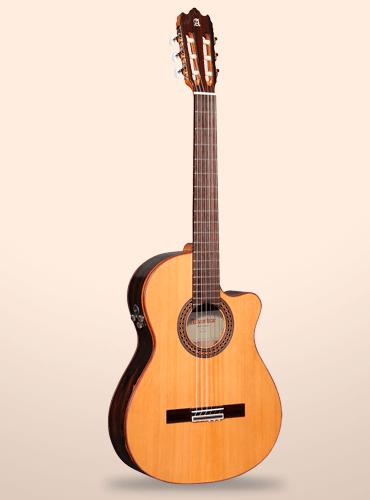 guitarra alhambra iberia ziricote ctw
