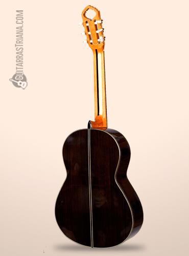 guitarra bros modelo alcazar detrás