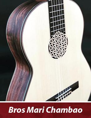 guitarra personalizada de famosos - Mari Chambao