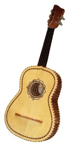 Guitarra vihuela mexicana