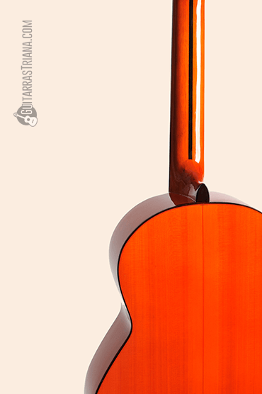 Guitarra Bros Canastera naranja detras