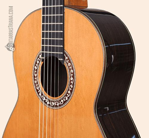 guitarra f.bros clásica modelo alcazar tapa