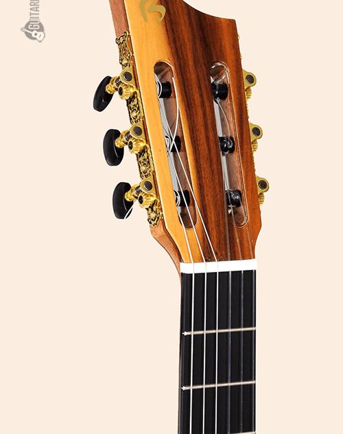 clavijeros negros de la guitarra clásica intiluna