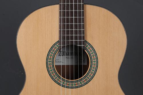 tapa y roseta de la guitarra alhambra 3 op
