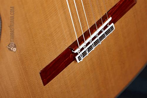 puente y tapa delantera de la guitarra alhambra linea profesional