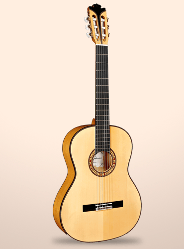 guitarra alhambra modelo vilaplana flamenca