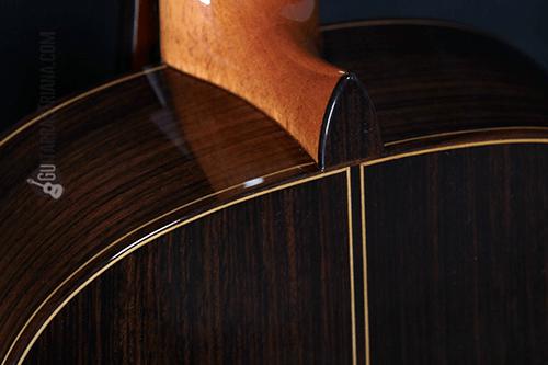 acabados de lujo de la guitarra mengual y margarit Serie C