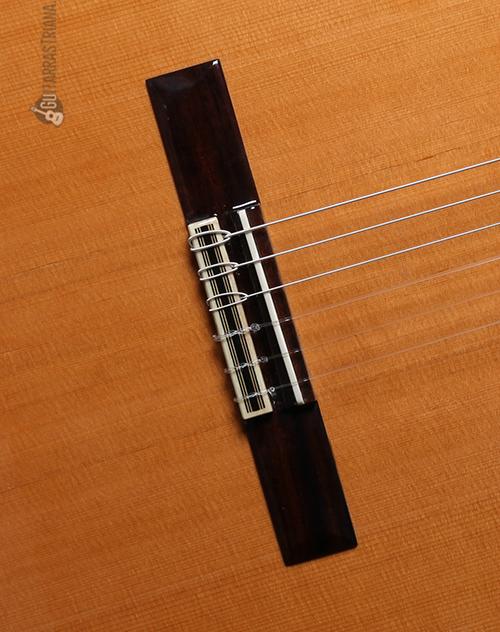 tapa y puente de la guitarra alhambra 7c classic