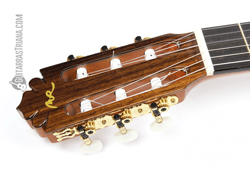 clavijero niquelado de la guitarra manuel rodriguez modelo C