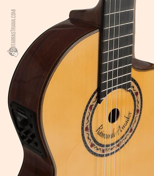 tapa de pino abeto de la guitarra bros R. Amador