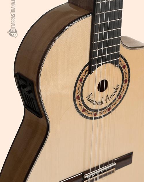 tapa y puente del modelo de raimundo amador – guitarras bros