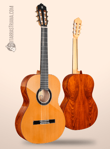 guitarra clásica alhambra exotic woods de cedro y cocobolo