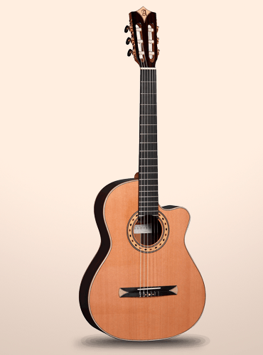 guitarra crossover alhambra CS3-CW