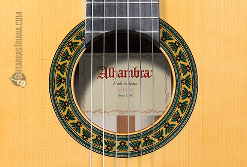 roseta y boca de la guitarra alhambra 5f