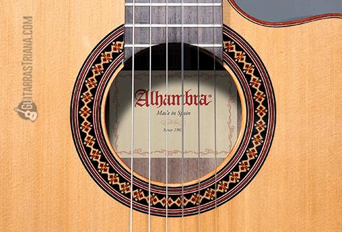 tapa de cedro de la guitarra iberia ziricote cutaway