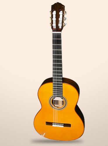 guitarra amalio burguet f negra dv
