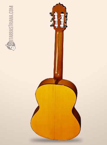 fondo de ciprés de la guitarra burguet 1f