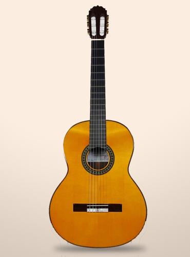 guitarra amalio burguet 2f negra