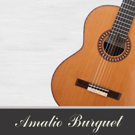 catálogo de guitarras Amalio Burguet
