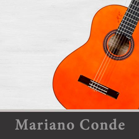 modelos de guitarras Mariano Conde