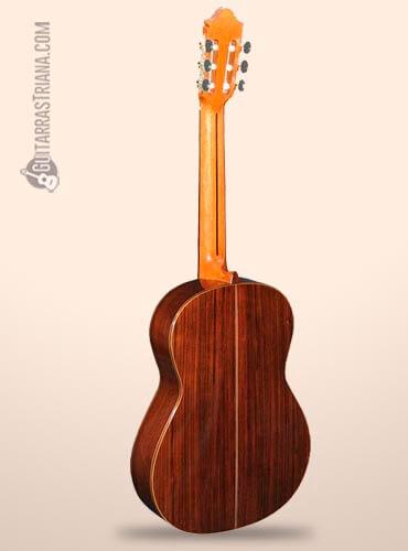 fondo de palosanto de la guitarra flamenca camps primera negra a